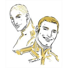 "Telemanus bros - Daxo and Pax (""Red Rising"" by Pierce Brown…"
