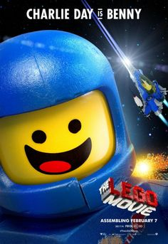 Here are four character posters for Warner Bros.' The LEGO Movie . They feature Charlie Day 's Benny, Will Arnett' s Batman, Will Ferrell 's Lord of Business, and Morgan Freeman as Vitruvius. I imagine we'll see more character posters from the mov Charlie Day, Lego Movie Characters, Lego Movie 2, Movie Tv, Lego Film, Will Arnett, Will Ferrell, Liam Neeson, Movies 2014