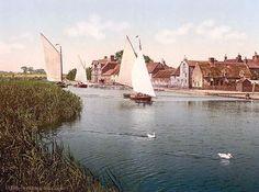 The village, Horning Village, England