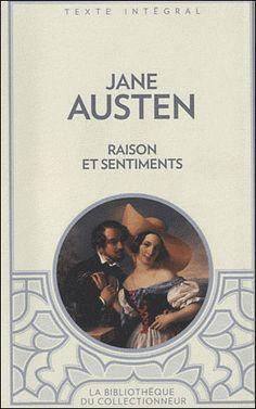 Raisons et sentiments - Jane Austen - Roman - J'ai - J'ai lu
