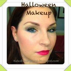 Kate's Beauty Blog: Look of the day: Halloween Makeup!