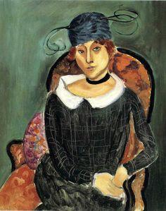 bofransson:    Henri Matisse - The Ostrich Feather Hat