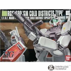 OHS Bandai HGUC 038 1/144 RGM-79D GM Cold District Type Mobile Suit Assembly Model Kits #Affiliate