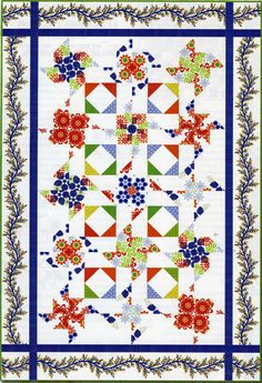 """Bloom"" by Jason Yenter (from Quilt Trends Magazine Spring 2013 issue)--I have some fun fabric that this would look great in."