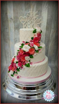 Weddingcake rozes