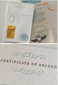 certificado the tooth fairy