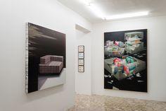 Gioacchino Pontrelli, James Brooks, Zlatan Vehabovic Ho(M)me group exhibition Paolo Maria Deanesi Gallery #DeanesiGallery