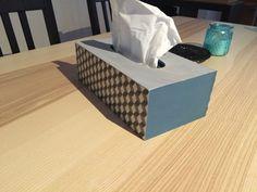 By Laura: DIY #1 : Relooker une boite de mouchoirs !
