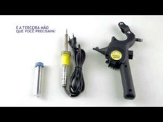 Suporte Estanhador Para Ferro De Solda - R$ 59,90 Cnc, Tools, Workshop, Electronics, Youtube, Electrical Components, Tin, Shopping, Free Market