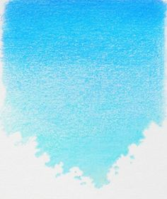 How to Draw a Clear Sky with Colored Pencil Before Burnishing