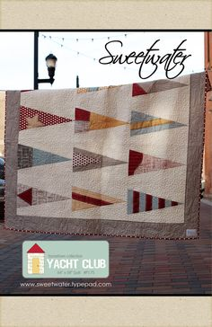 Yacht Club Pattern by sweetwaterscrapbook on Etsy, $8.00