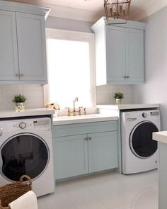 """Get wonderful recommendations on """"laundry room storage diy"""". They are actually available for you on our internet site. Laundry Room Remodel, Laundry Decor, Laundry Room Organization, Laundry Room Design, Laundry Rooms, Laundry Room Colors, Laundry Closet, Home Design, Design Ideas"""