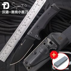 HX OUTDOORS Locke D2 steel high-quality tactical knife high hardness straight knife field survival knife, self-defense tool, out
