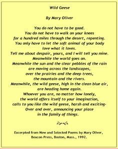 mary oliver soft animal - Cerca con Google