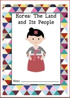 korea the land and its people workbook
