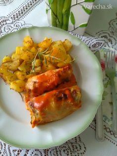 Holúbky - plnené kapustné listy (fotorecept) - recept   Varecha.sk Carrots, Treats, Vegetables, Food, Sweet Like Candy, Goodies, Essen, Carrot, Vegetable Recipes