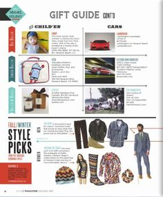 LOCALE Mag Holiday '11 featuring B. toffee