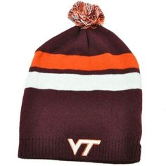 NCAA Zephyr Knit Beanie Revolution Long Slouch Pom Ball Hat Virginia Tech Hokies by Zephyr. $17.99. Official Licensed Product. Brand New Item with Tags. Beanie - Knit. One Size Fits Most. 100% Acrylic. Take to the slopes or just enjoy the outdoor weather in the cozy, collegiate-infused Zephyr® Revolution knit hat. Designed in the NCAA team's colors. Team logo embroidered on front panel. Zephyr tag on left side panel. Pom-pom on top adds to the classic look of this hat. Long ...