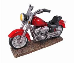 EASY RIDER V-Twin Motorcycle Wine Bottle Holder -- Unbelievable  item right here! : Storage and Organization