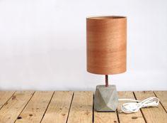 concrete + cedar wood