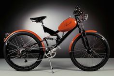 Italy's Agnelli Milan Bikes is making the old new again by repurposing vintage 1950s auto and moped parts into gorgeous electric bikes.