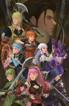 See more 'Fire Emblem: Three Houses' images on Know Your Meme! Character Art, Character Design, Paint Games, Fire Emblem Games, Fire Emblem Characters, Blue Lion, House Illustration, Animation, Game Art