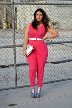 {Enter Galactic} REAL Curvy Girl inspiration from Nadia Aboulhosn, her blog: Nadia Aboulhosn