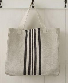 1be1f2f3f2 Our Striped Tote Bags  vertical striped pattern makes a cheerful statement.  Great for the beach
