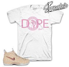 d1f88e320f9c47 Foamposite Vachetta Tan DPE Gods Shirt Jordan Tees