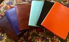 Custom Leather A4 Portfolios* Leather Legal Pad Cover* Leather Portfolio* Monogrammed Leather Portfolios* Handmade in the USA