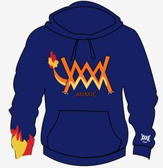 Charmander Hoody Pre-orderThese will be for Pre-Order only now extra's will be made.1 Week pre-order period then 12 day production period for all pre-orders.Each Pokemon item will come with a Rare Candy so you can Level Up!Gotta Catch Em All!
