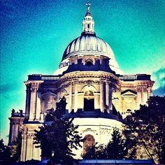 Dark St Paul'S Churchyard - @sazam_- #webstagram