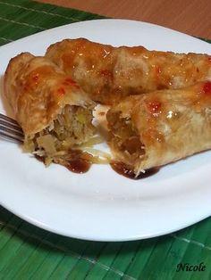 PACHETELE DE PRIMAVARA Apple Pie, Lasagna, Ethnic Recipes, Desserts, Food, Lasagne, Postres, Deserts, Apple Pies