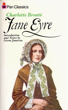 Jane Eyre paperback cover - 1974