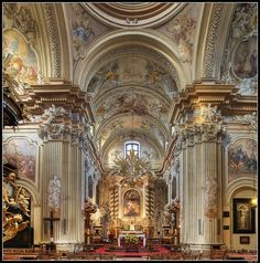 I seriously cannot get enought of St. Anne's Church...Love the Baroque architecture!