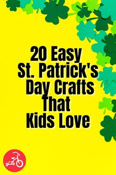 It's time to accept the fact that your wild St. Patrick's Day activities (think green beer and Bailey's) have been traded for kid-friendly fun. We've gathered up a bunch of festive St. Patrick's Day crafts and activities that will get your crew excited about the holiday, whether you've got preschoolers or older kids. Diy Kid Crafts For Boys, St Patricks Day Crafts For Kids, Toddler Crafts, Diy For Kids, Green Beer, Business For Kids, Craft Activities, Fun Projects, Festive