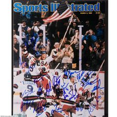 Miracle on Ice, underdog USA against the juggernaut Russians in the 1980 Winter Olympics.