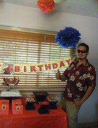 Phillip's 23rd  Birthday - Spiderman