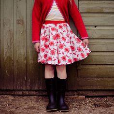 The Mercerie's circle skirt tutorial