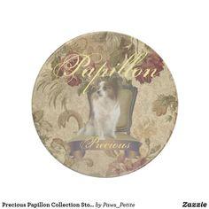 Precious Papillon Collection Stone Drink Coaster