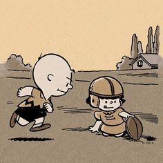 Peanuts - It's time for some football.