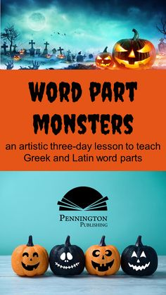 Looking for a great pre-Halloween or pre-Open House activity to scare your kids into learning high frequency Greek and Latin word parts? My Word Part Monsters will do the trick (or treat). Get the three-day lesson and the FREE Greek and Latin prefixes, roots, and suffixes Monster Word List for these lessons. Teaching Reading Strategies, Reading Resources, Guided Reading, Reading Comprehension, Common Core Vocabulary, Academic Vocabulary, Teaching Vocabulary, Response To Intervention, Reading Assessment