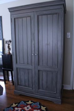 Armoire  chic  UPcycled  closet storage by RVAFurnitureWorks, $450.00