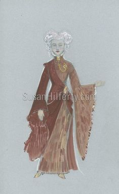 Original Drawings for Madame Morrible's outfit, by the Costumier Broadway Wicked, Wicked Musical, Wicked Witch, The Witches Of Oz, Ella Enchanted, Wicked Costumes, Dorothy Gale, Ballet Costumes, Wizard Of Oz