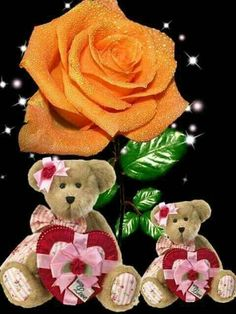 Good Morning Images Hd, Bible Love, Hearts And Roses, Heart Images, Last Supper, Beautiful Flowers, Cool Art, Teddy Bear, Romance
