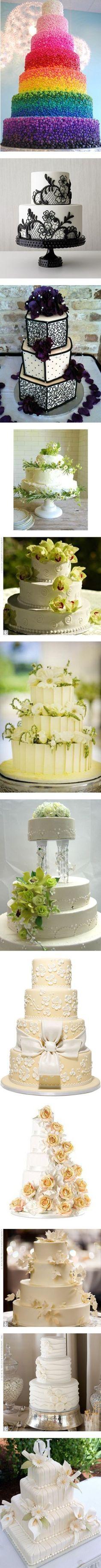 Wedding cakes by belladonnachen on Polyvore featuring food, cakes, wedding cake, wedding, food & drink, cake, backgrounds, wedding cakes, weddings and home
