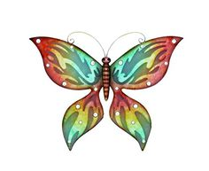 Woodland Imports Fashionable Cherry Metal Wall Butterfly Decor *** This is an Amazon Affiliate link. To view further for this item, visit the image link.