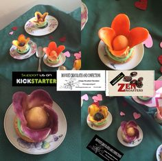 Amazing Chocolate Invention https://www.kickstarter.com/projects/456623512/sweet-chocolate-flower-invention-starts-industry-r