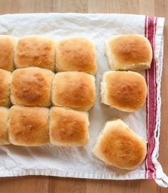 What& a dinner party without a basket of warm rolls on the table? The softer and fluffier the better, I say. All the better to sop up those last bits of sauce. Here& how I make my absolute favorite, foolproof dinner rolls, a perfect addition to any table. Dinner Rolls, Baking School, Cooking Photos, Salted Butter, Sweet Bread, Hot Dog Buns, The Best, Cooking Recipes, Bread Recipes