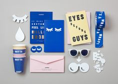 Branding, Identity and store concept for the Norwegian eyewear brand Kaibosh. Brand Identity Design, Graphic Design Branding, Logo Design, Stationery Design, Branding And Packaging, Packaging Design, Branding Tools, Hotel Branding, Restaurant Branding